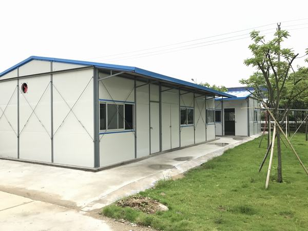 Wellcamp K-2 low cost prefabricated house