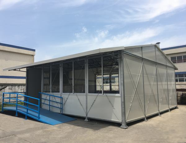 Wellcamp K-7 customized standard prefabricated house